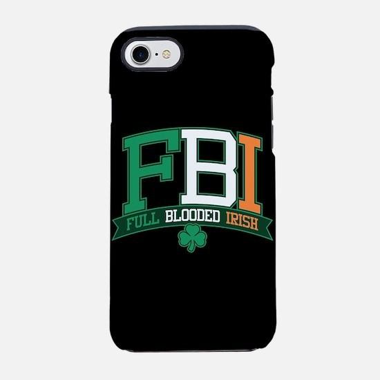 Full Blooded Irish iPhone 8/7 Tough Case