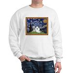 Starry Night / Poodle(w) Sweatshirt