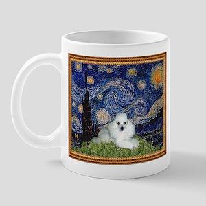 Starry Night / Poodle(w) Mug
