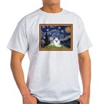 Starry Night / Poodle(w) Light T-Shirt