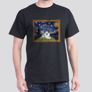 Starry Night / Poodle(w) Dark T-Shirt