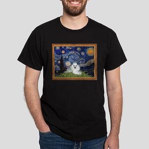 Starry Night / Poodle(w) Dark T-Shirt