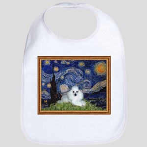 Starry Night / Poodle(w) Bib