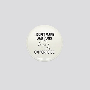 On Porpoise Mini Button