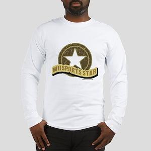 Wii Sports Star Long Sleeve T-Shirt
