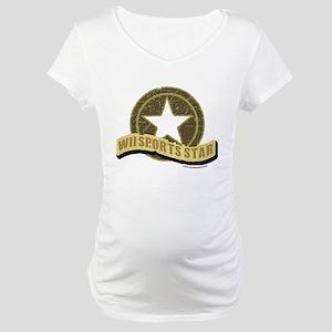 Wii Sports Star Maternity T-Shirt