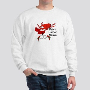Crab Fishing Dutch Harbor Ala Sweatshirt