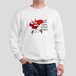 Crab Fishing Dutch Harbor Ala Sweatshirt
