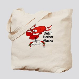 Crab Fishing Dutch Harbor Ala Tote Bag