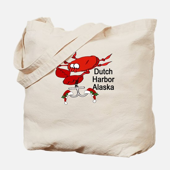 Crab Fishing Dutch Harbor Ala Tote Bag