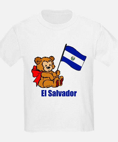 El Salvador Teddy Bear T-Shirt