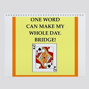 Bridge Player Wall Calendar