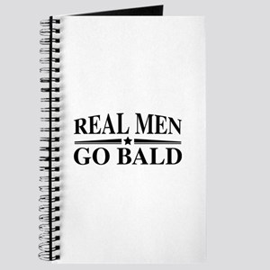 Real Men Go Bald Journal