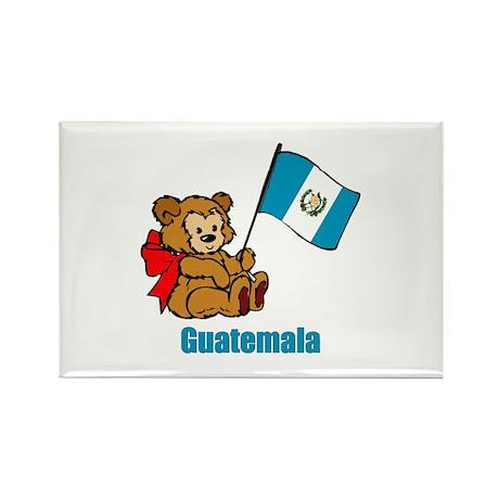 Guatemala Teddy Bear Rectangle Magnet (100 pack)