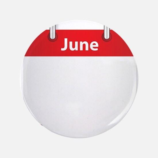 Blank June Date Button