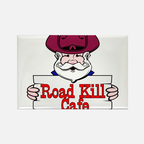 Road Kill Cafe Sign Rectangle Magnet
