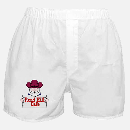 Road Kill Cafe Sign Boxer Shorts
