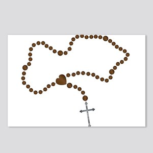 The Rosary Beads Postcards (Package of 8)