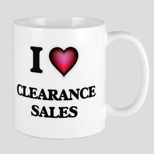 I love Clearance Sales Mugs