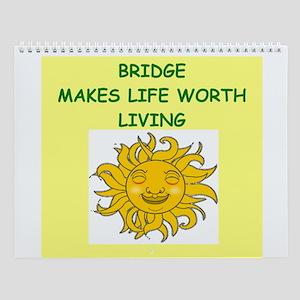 Bridge Player Wall Calendar