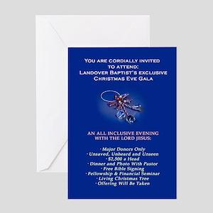 Landover Baptist Christmas Gala Greeting Card