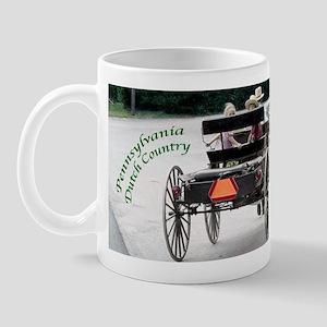 Amish Buggy & Kids Mugs