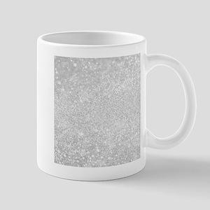 Silver Glitter Style Mugs