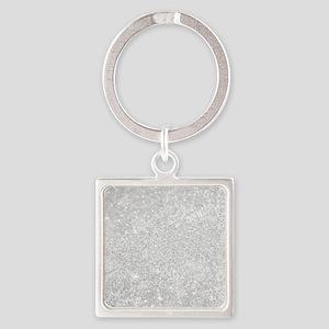 Silver Glitter Style Keychains