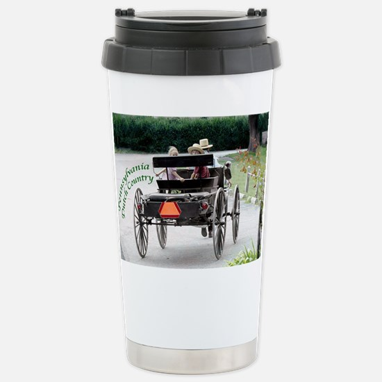 Amish Buggy & Kids Mugs