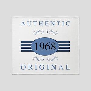 1968 Authentic Original Throw Blanket