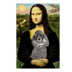 Mona / Poodle (s) Postcards (Package of 8)