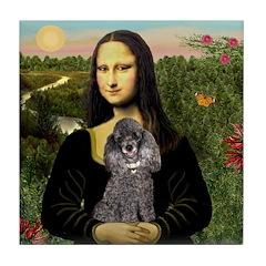 Mona / Poodle (s) Tile Coaster