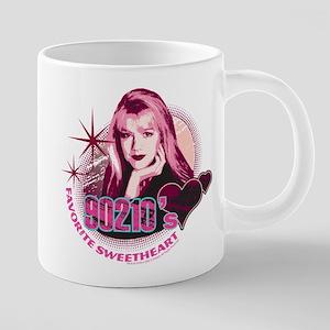 90210 Favorite Sweetheart 20 oz Ceramic Mega Mug