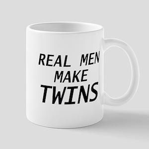Real Men Make Twins Mug