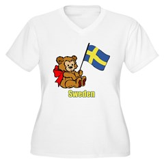 Sweden Teddy Bear T-Shirt