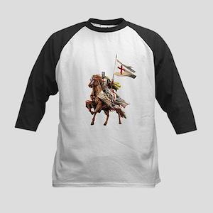 Knights Templar on his Horse Baseball Jersey
