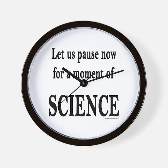 Unique Science teacher Wall Clock