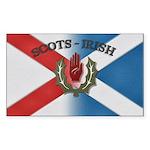 Scots-Irish Sticker