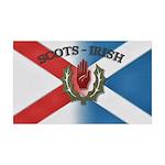 Scots-Irish Sticker 35x21 Wall Decal