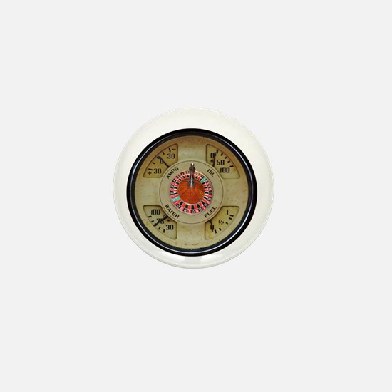 Custom Car Instrument with Lucky Roule Mini Button