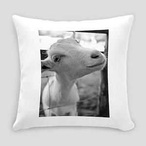 Goofy Goat Everyday Pillow