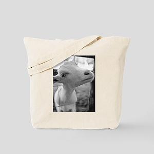 Goofy Goat Tote Bag