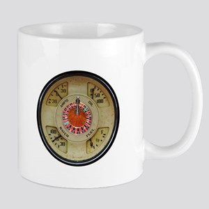 Custom Car Instrument with Lucky Roulette Whe Mugs