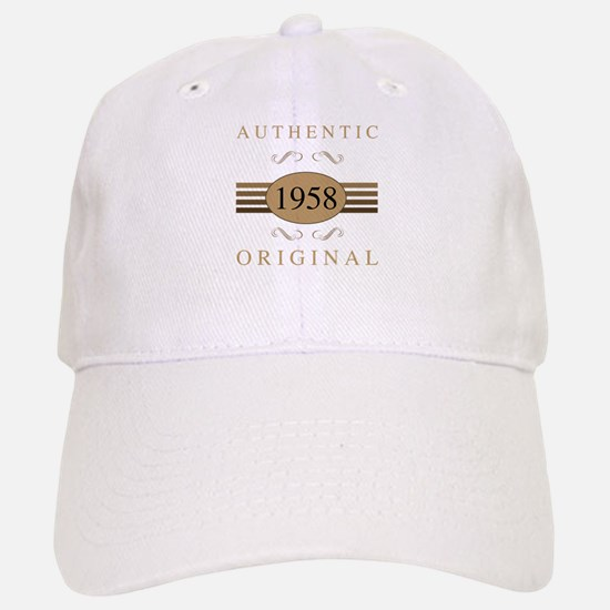 1958 Authentic Original Baseball Baseball Cap