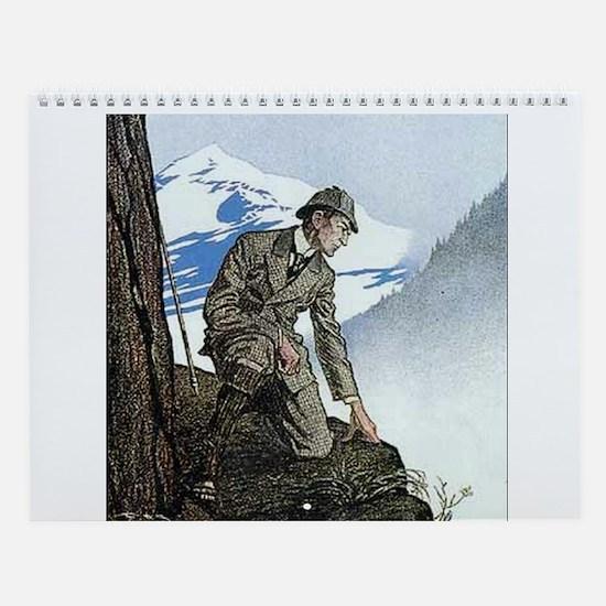 Sherlock Holmes Wall Calendar