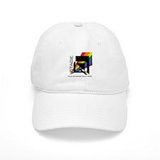 Stageq White Baseball Cap