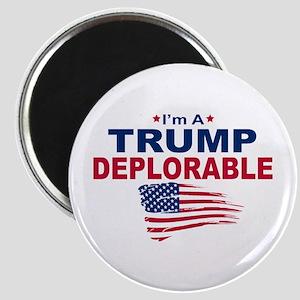 I'm A Trump Deplorable Magnets