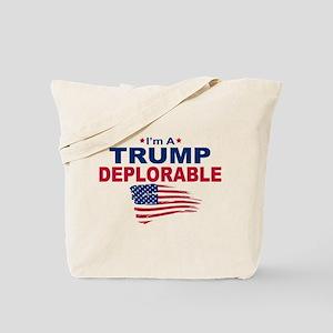 I'm A Trump Deplorable Tote Bag
