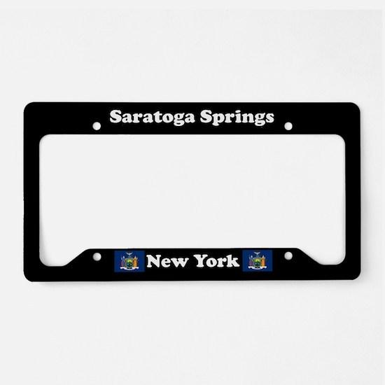 Saratoga Springs NY - LPF License Plate Holder