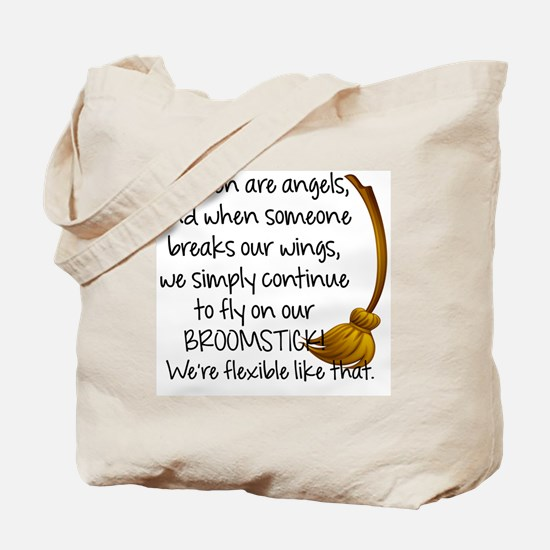 Funny Angels Tote Bag